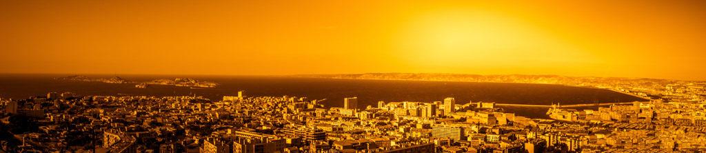 photographie par Gko Prod ville panoramique paysage marseille