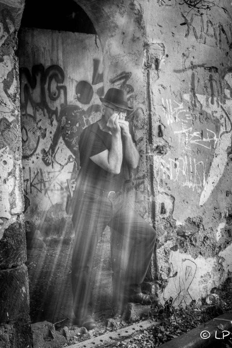 Patrice Hoareau harmonica blues reportage