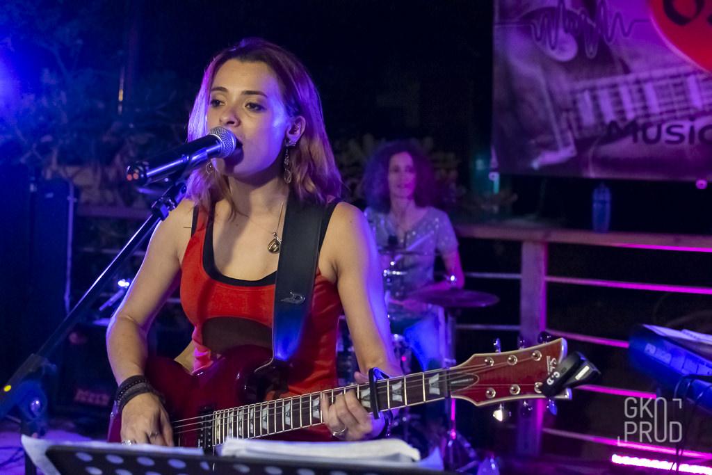 Céline et Manu Concert Play'hers Bénitier Octobre 2019
