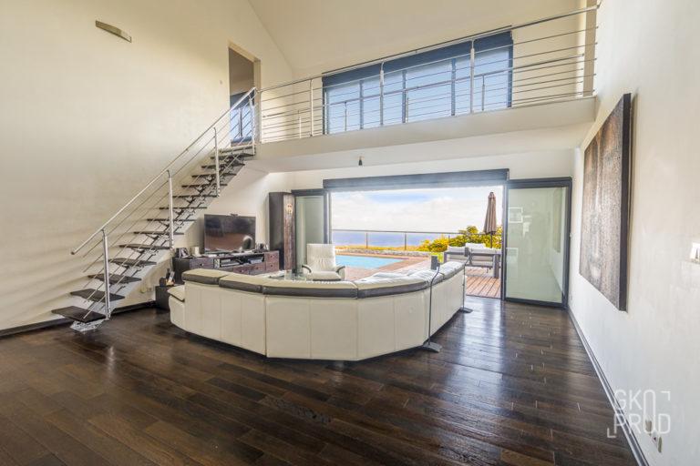 salon Exemple de mise en valeur immobilière
