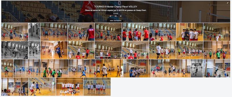 tournoi cadets volley Réunion galerie photos