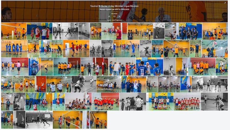 galerie photos Ligue volley Réunion 974 minimes