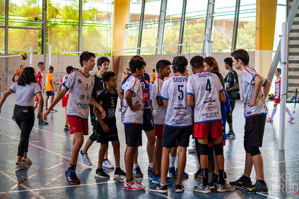 M15 minimes SDOVB volley ball Réunion FFVB