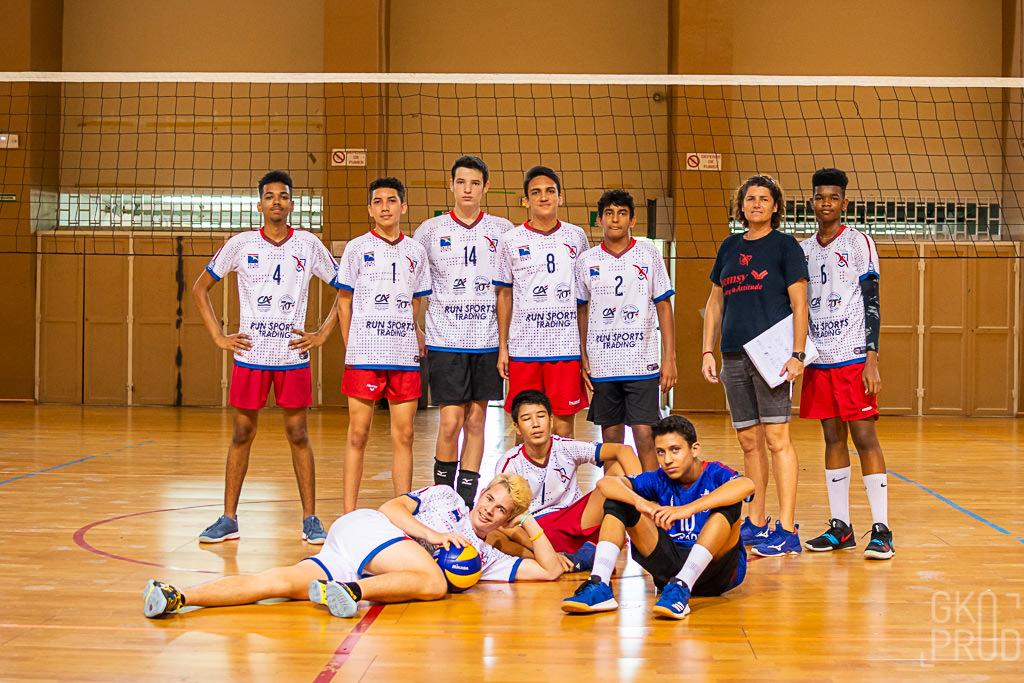 victoire SDOVB cadets tournoi volley 9 février