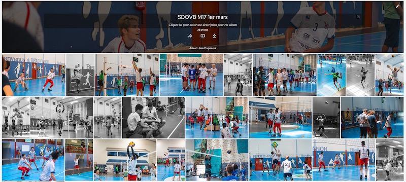 galerie photos Ligue volley Réunion 974 cadets M17