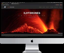 gko creation de site web responsive ilotdrones