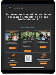 gko creation de site web responsive reportages
