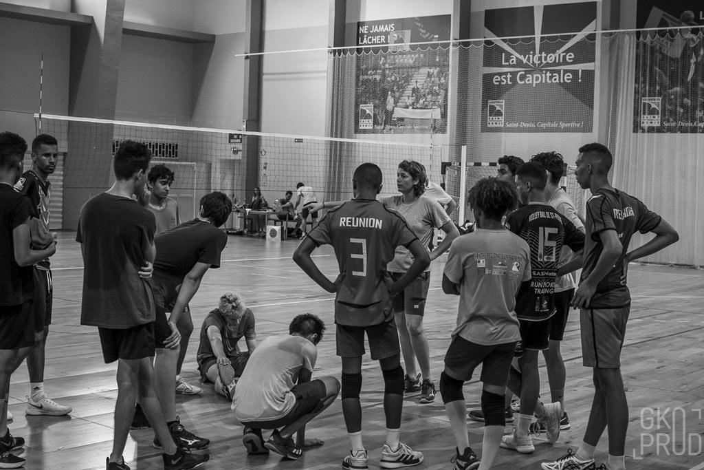 sélection de la Réunion M15 équipe