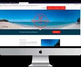 burton Sun Réunion site créé par GKO PROD Réunion