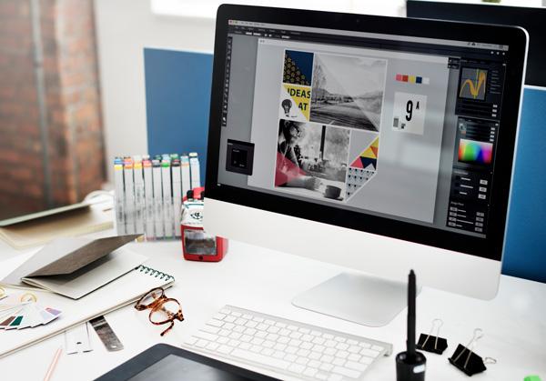 Travail graphique pour création de site internet par GKO PROD Réunion