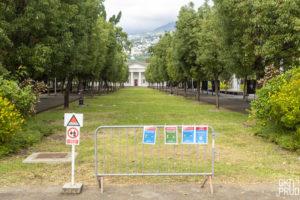 le jardin de l'Etat pendant la crise COVID 19